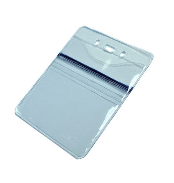 "Badge Holder, DUO, Front Slide Insert size 3"" W x 4"" H"