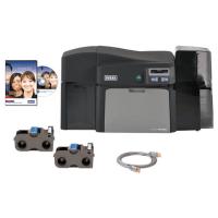 Bundle - Fargo DTC4250e ID Card Printer w Asure ID Express