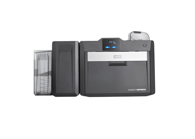 Fargo HDP6600 DS Printer w Contactless and Mag Stripe Encoder