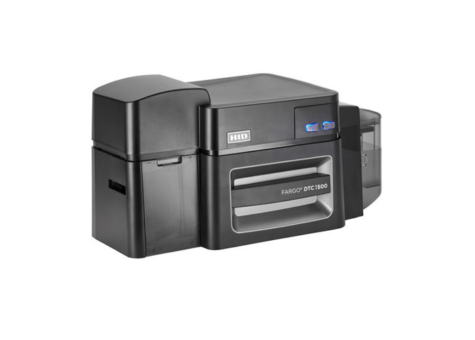 Fargo DTC1500 SS Printer w USB and Contact Smart Card Encoder