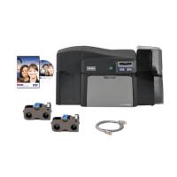 Bundle - Fargo DTC4250e SS Printer w USB Cable and Camera