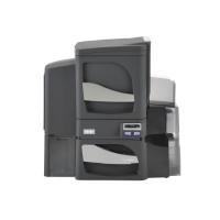 Fargo DTC4500e DS Printer w SS Lam and ISO Mag Stripe Encoder