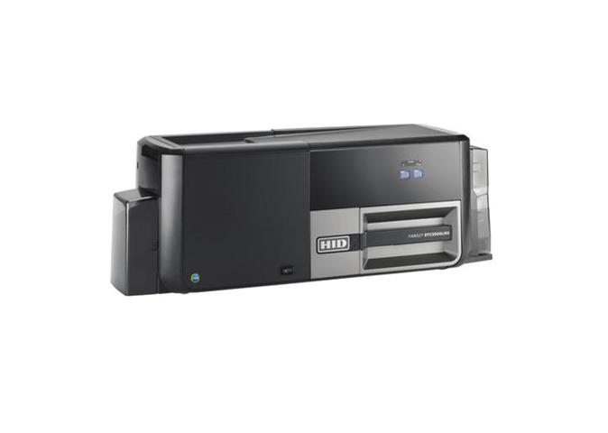 Fargo DTC5500LMX DS Printer w 2M Lam and SEOS Encoder