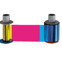 Fargo Connect Enabled YMCKK Full Color Printer Ribbon