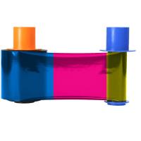Fargo Connect Enabled YMCKK Color Printer Ribbon
