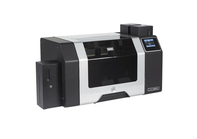 Fargo HDP8500 DS Printer w Flattener