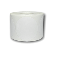 IIDS 2 inch ROUND THERMAL Labels - white