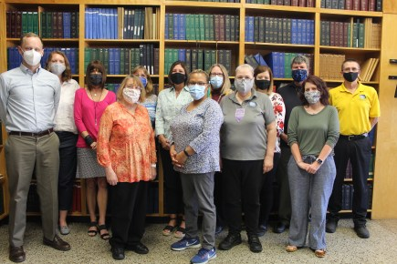 Picture of the Library Staff
