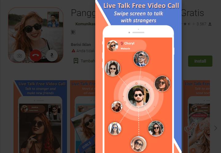 Panggilan Langsung Video Gratis