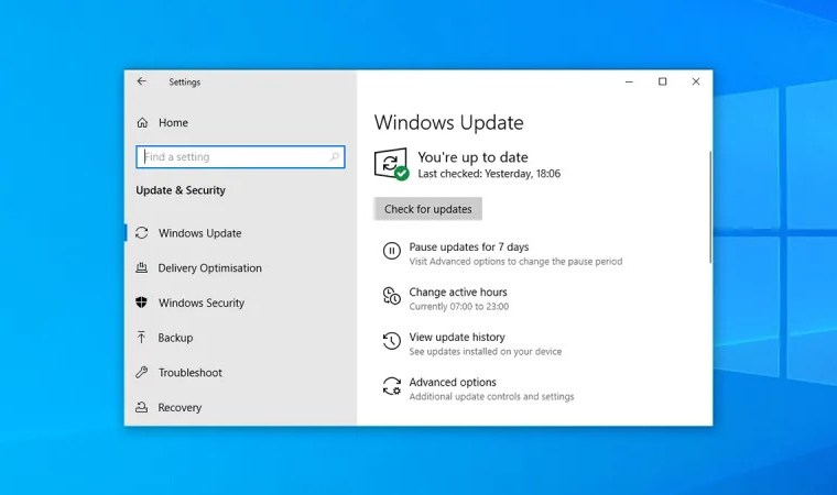 Menonaktifkan Windows Update pada Windows 10