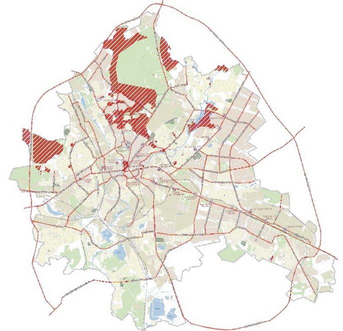 Районы развития многоэтажного жилья