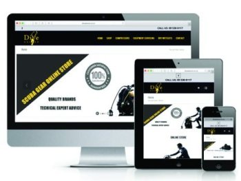 Dive Doctor Web Design Auckland
