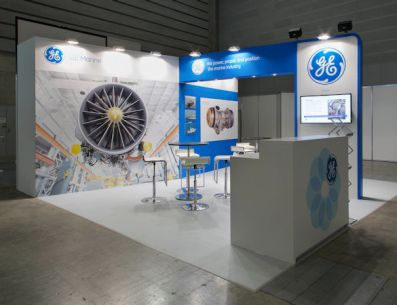 GE Marine exhibit by Idea International, Inc.