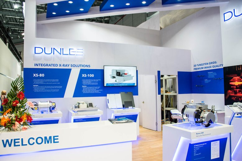 Dunlee Exhibit at CMEF Shanghai China by Idea International, Inc.