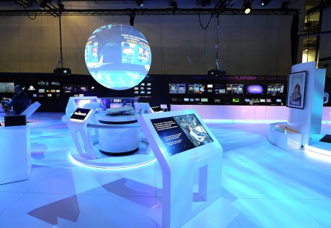 Panasonic Exhibit at Apex Singapore by Idea International, Inc. #3