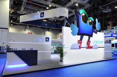 Zodiac Aerospace Exhibit at APEX Singapore by Idea International, Inc.