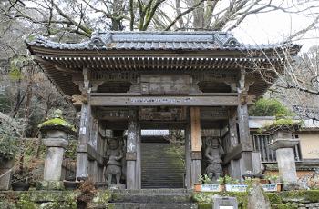 富貴寺の仁王門