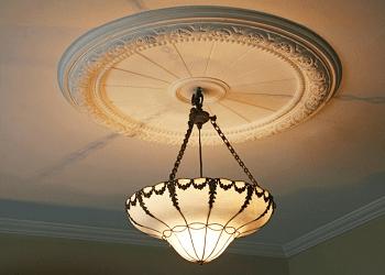 洋館の照明