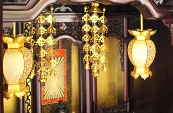 仏壇の装飾