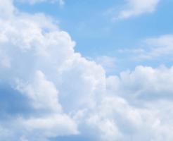 夏の雲と青空