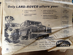 Land Rover advert
