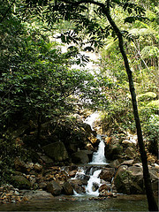 Sungai Tua Fall waterfall feng shui activate f...