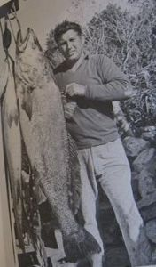 Brian with giant kob off the Breede River