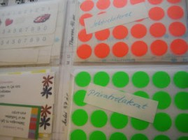 Dots and stickers