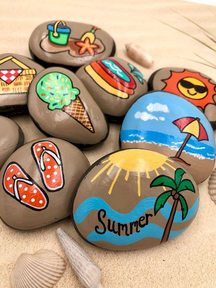 52 Best DIY Painted Rocks Remodel Ideas Perfect For Beginners (95)