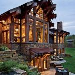 55 Best Log Cabin Homes Modern (26)