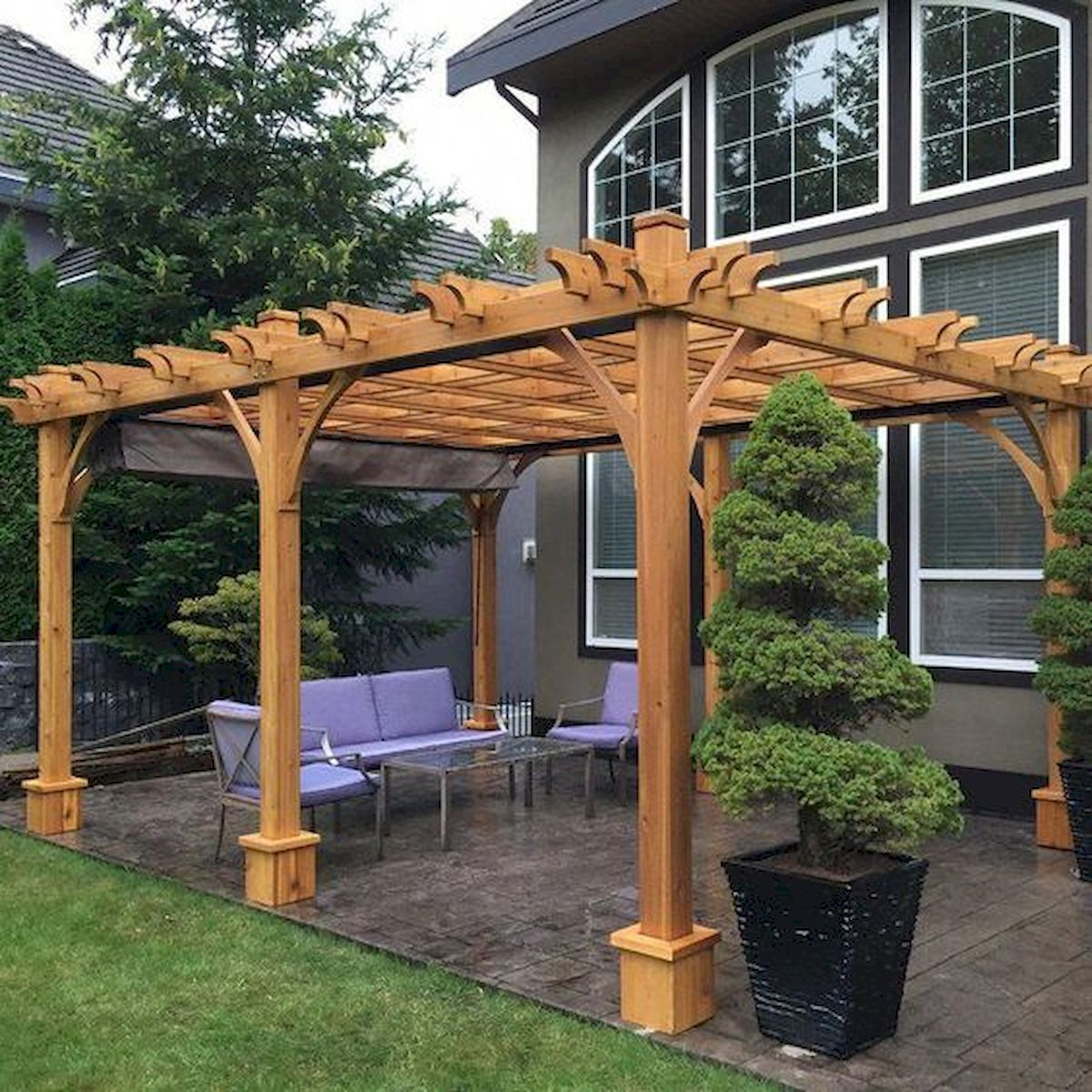 55 Fantastic Pergola Patio Design Ideas 25 Ideaboz