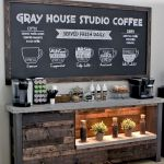 60 Best Mini Coffee Bar Ideas for Your Home (36)