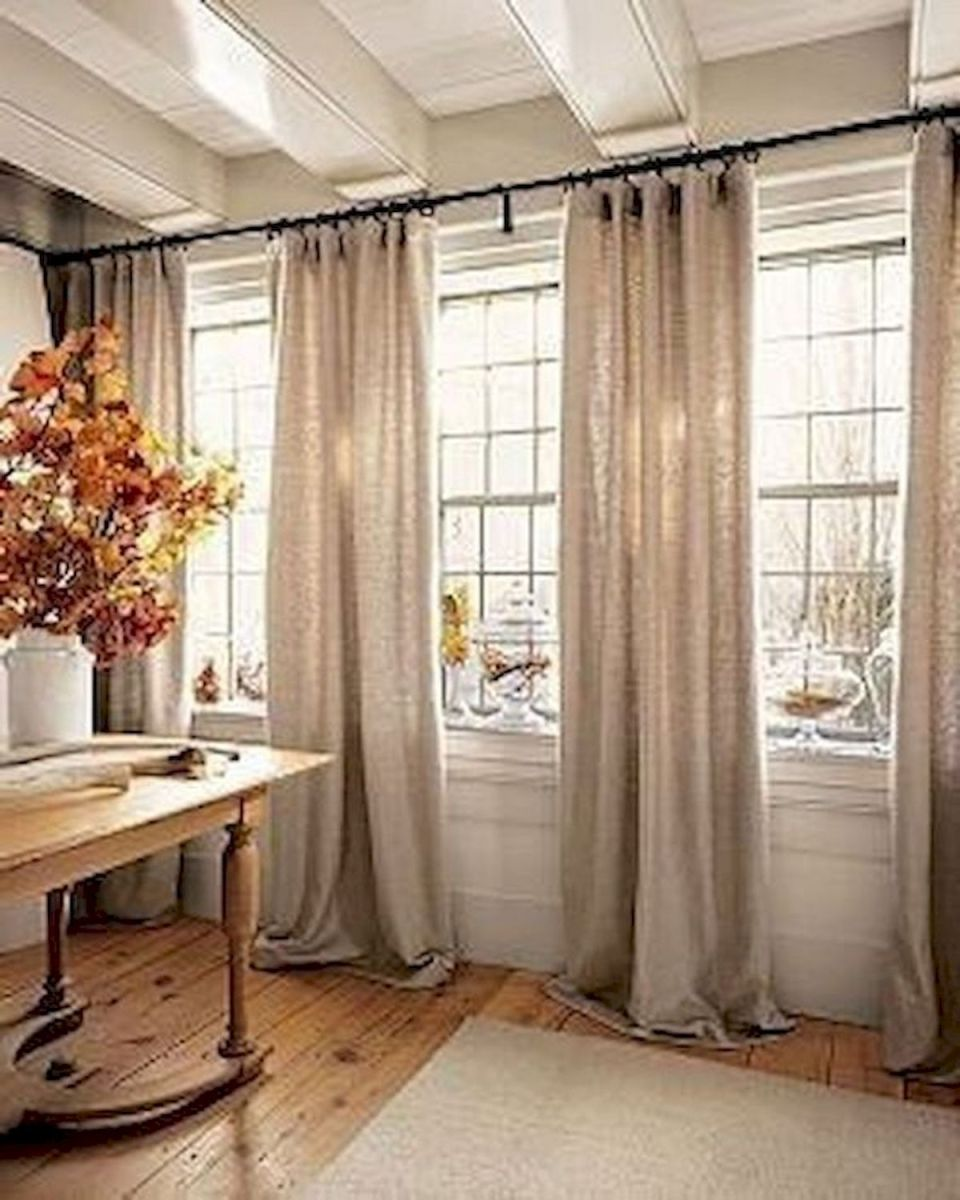 65 Adorable Window Curtains Design Ideas And Decor (18)