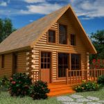 66 Best Small Log Cabin Homes (44)