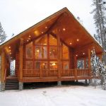 66 Best Small Log Cabin Homes (65)