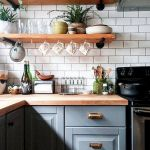 90 Beautiful Small Kitchen Design Ideas (42)