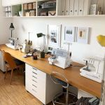 40 Stunning Craft Room Cabinets Decor Ideas and Design (36)