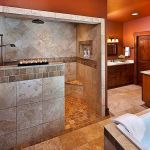 50 Fantastic Walk In Shower No Door for Bathroom Ideas (43)