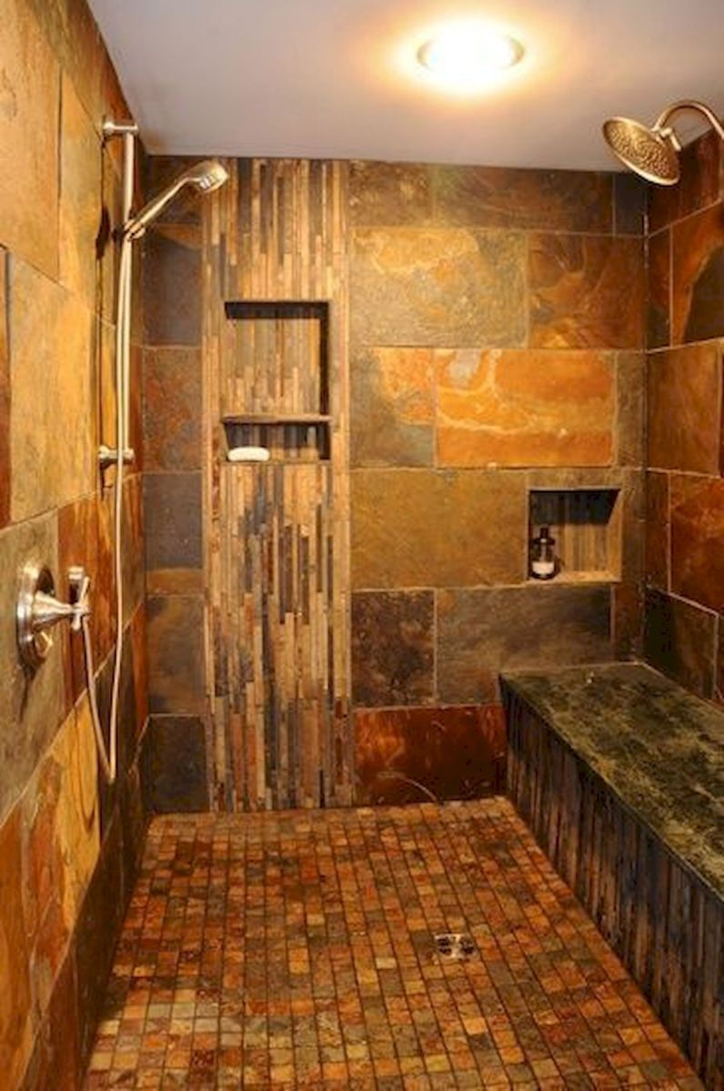 50 Fantastic Walk In Shower No Door for Bathroom Ideas (9)