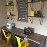 60 Favorite DIY Office Desk Design Ideas and Decor (13)