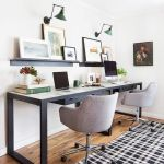 80 Amazing DIY Art Desk Work Stations Ideas and Decorations (32)