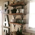 37 Farmhouse Wall Decor Ideas for Kitchen (4)