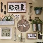 51 Farmhouse Wall Decor Ideas for Dinning Room (15)