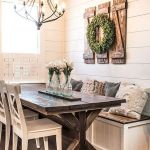 51 Farmhouse Wall Decor Ideas for Dinning Room (6)