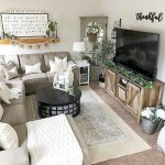 75 Best Farmhouse Wall Decor Ideas for Living Room (8)