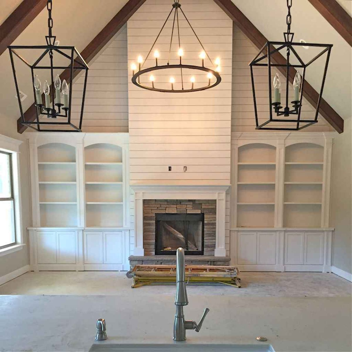 The Best Fireplace Ideas for Farmhouse (12)