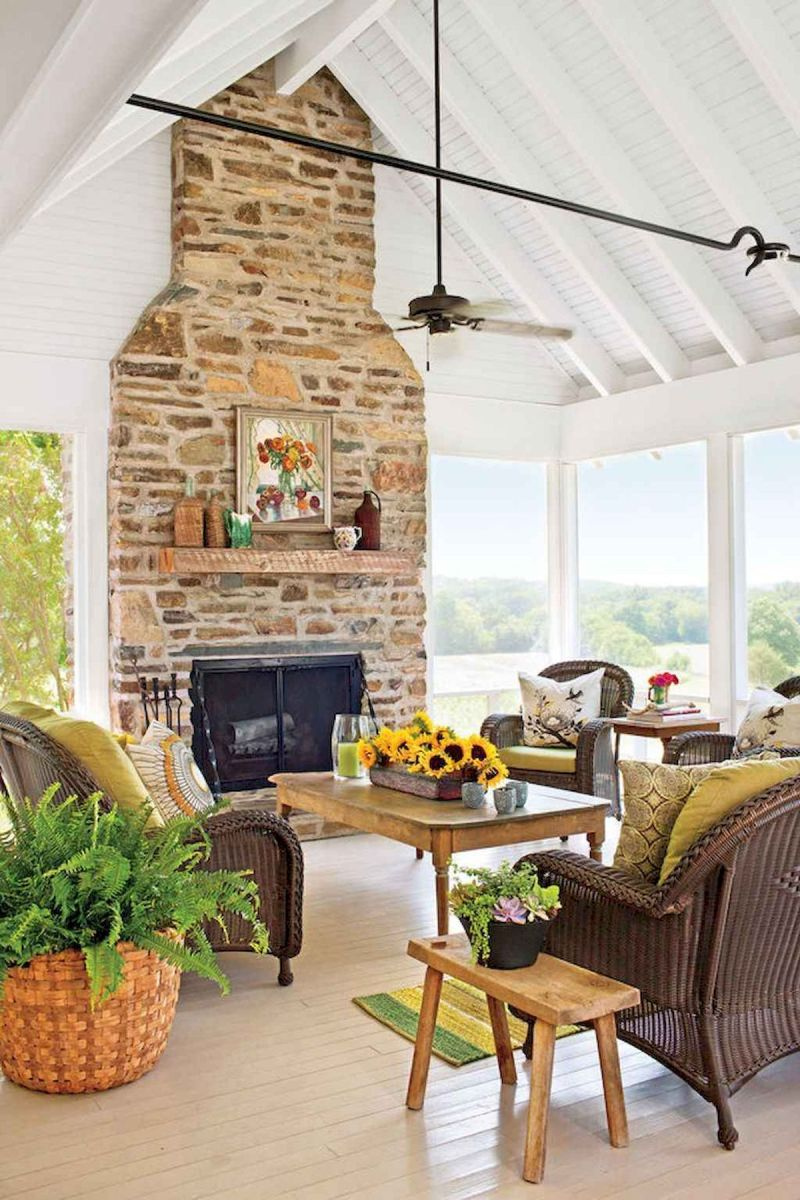 The Best Fireplace Ideas for Farmhouse (14)