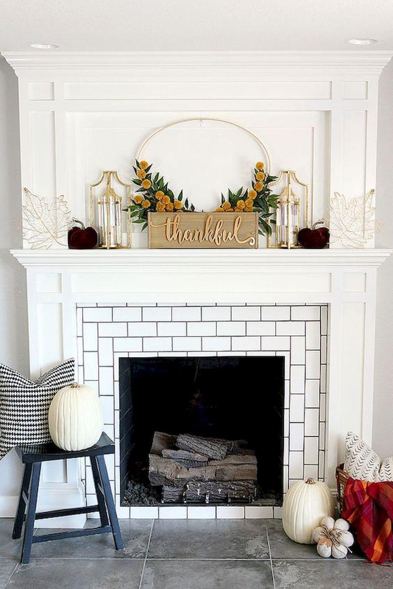 The Best Fireplace Ideas for Farmhouse (37)