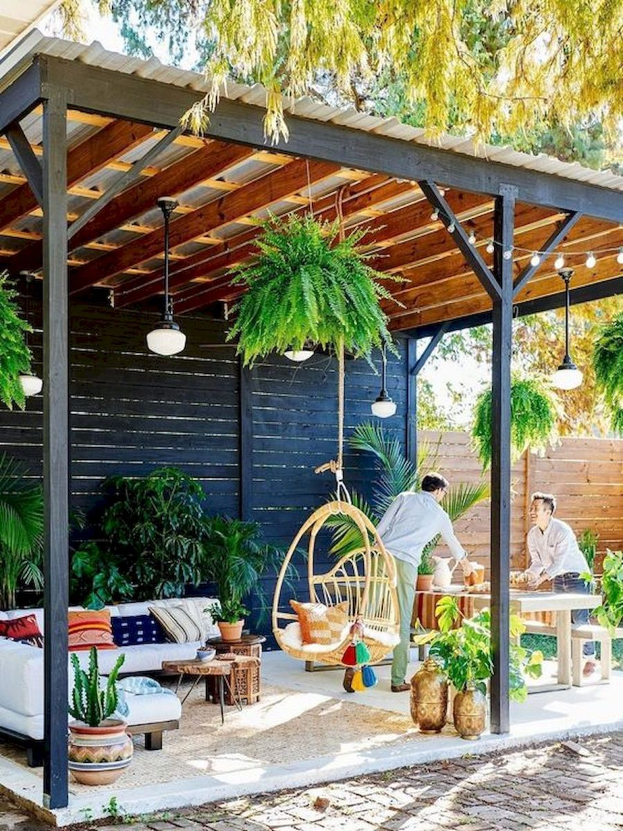 The Best Idea for Farmhouse Pergola (22)