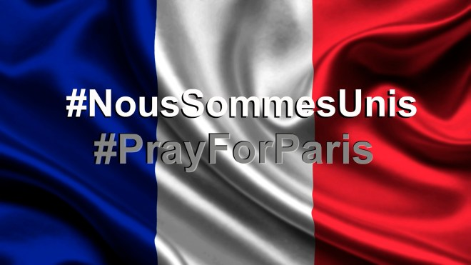 Pray for Paris... Our heart is with the families in grief... We are deeply saddened by the loss of your children... Please accept our deepest condolences...